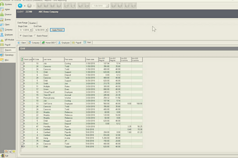 Creating Grid Reports in Evolution Classic