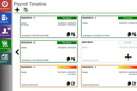 Entering payroll hours using an import file in Evolution Payroll