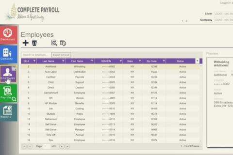 Evolution Payroll Complete Demo