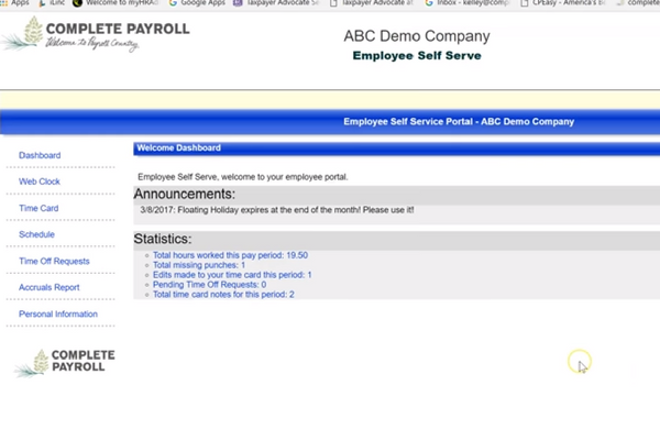 Demo & Training Video Library | Complete Payroll
